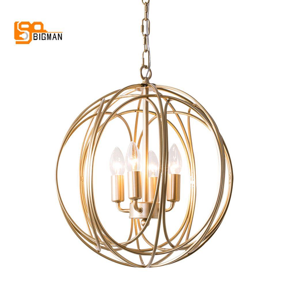 Kurze design moderne kronleuchter LED licht AC110V 220 v gold esszimmer licht