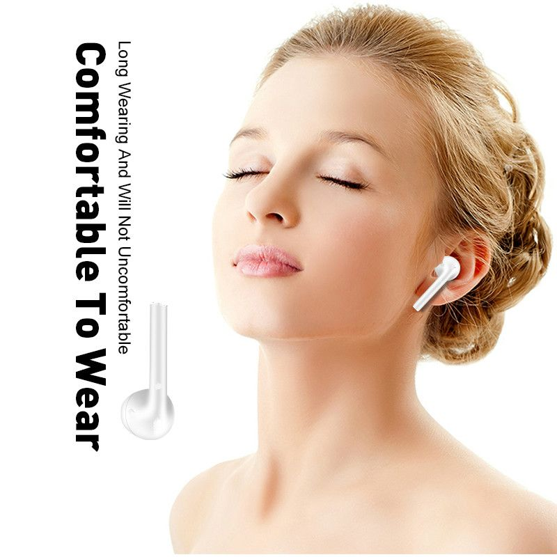 i12 TWS earbuds headset Bluetooth 5.0 earphones wireless charging drop shipping