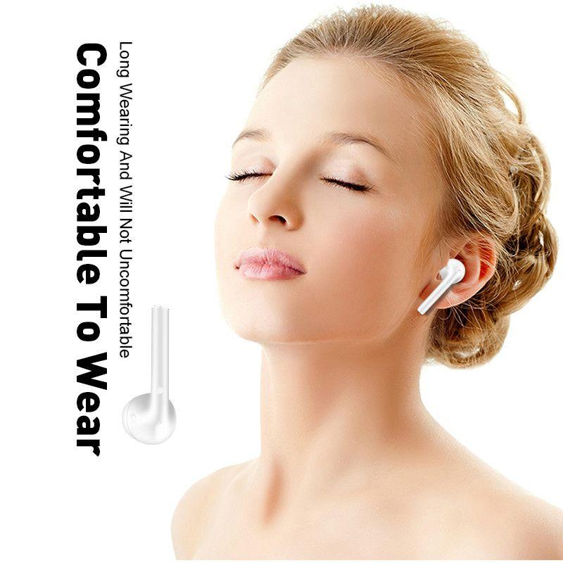 i12 TWS earbuds headset Bluetooth 5.0 earphones wireless charging drop shipping