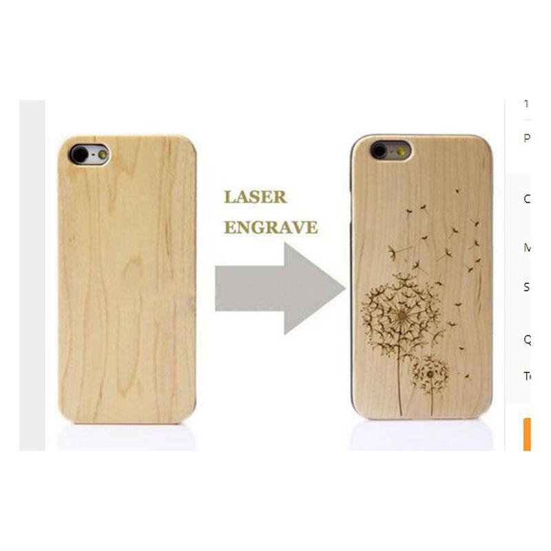 2017 лидер продаж; Новинка лазерной гравировки натурального дерева и пластиковых любой узор DIY логотип для iPhone 6/6 s/ 6 plus/6splus 4.7 дюймов 5.5 дюйма