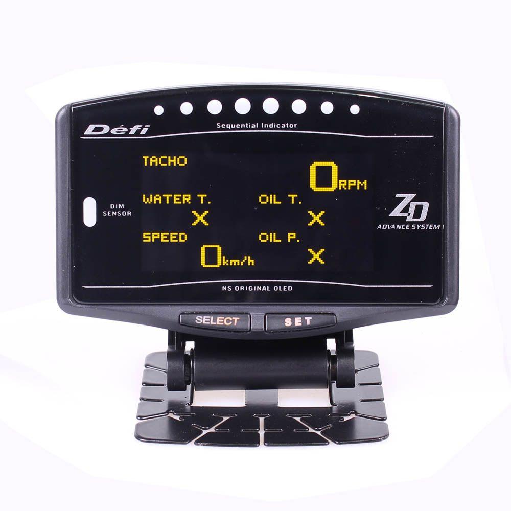 DEFI Voraus ZD 10 in1 Defi stil link Auto Gauge DF09701 DF09703 Sport Paket Digitaler Tachometer Full Kit BF CR c2 meter
