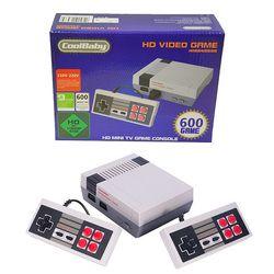 Coolbaby handheld salida HDMI Retro clásico reproductor de juegos portátil consola de videojuegos TV infancia incorporado 600 juegos Mini consola