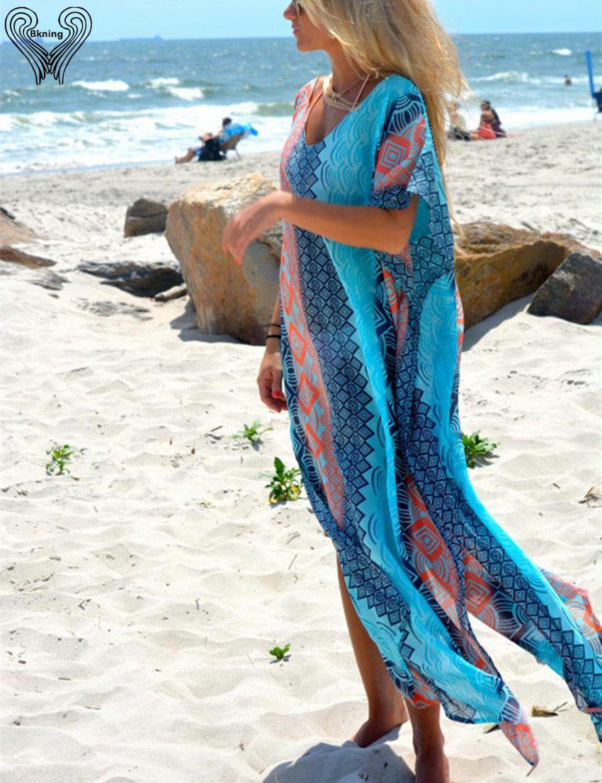Robes turques grande plage couvrir plage couvrir plage tunique saida de praia maillots de bain Bikini couvrir femmes plage capes h387