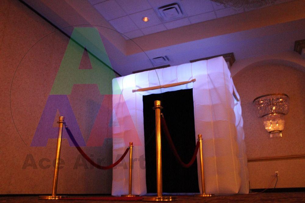 Neuen Stil Quadratischen LED-Aufblasbare Photo Booth/Aufblasbare photobooth Für Party