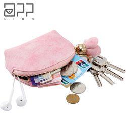 APP BLOG Marque Mignon Femmes de Portefeuille Porte-Monnaie Nouvelle Arrivée 2017 Mode Fleur Mini Petite Femelle En Cuir Key Card Sac porte-clés