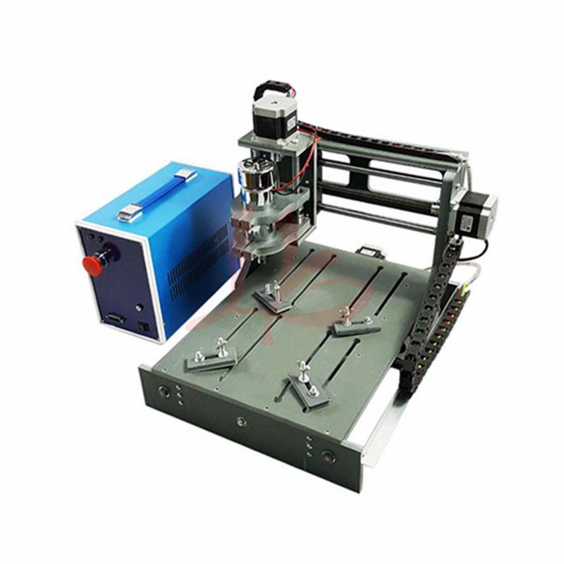 Mini CNC graviermaschine 20X30 3 achse PCB fräsen und schneiden für DIY hobby CNC bohren