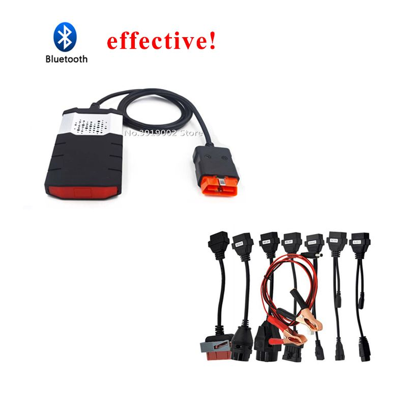 Scanner for delphis New VCI vd ds150e cdp pro plus obd2 obdii bluetooth software CD cars trucks mvd diagnostic tool for autocome