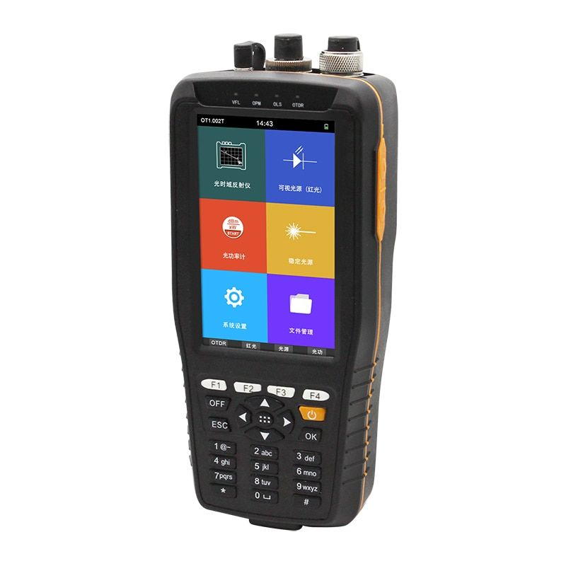 2019 neue TM290 Smart OTDR 1310 1550nm mit VFL/OPM/OLS Touchscreen OTDR Optical Time Domain Reflektometer