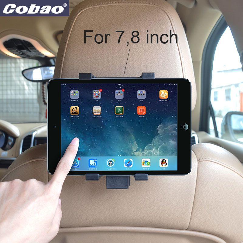 Universel voiture appui-tête tablette PC support en plastique 7 8 pouces tablette support pour voiture siège arrière adapté pour 7.9 pouces Ipad mini