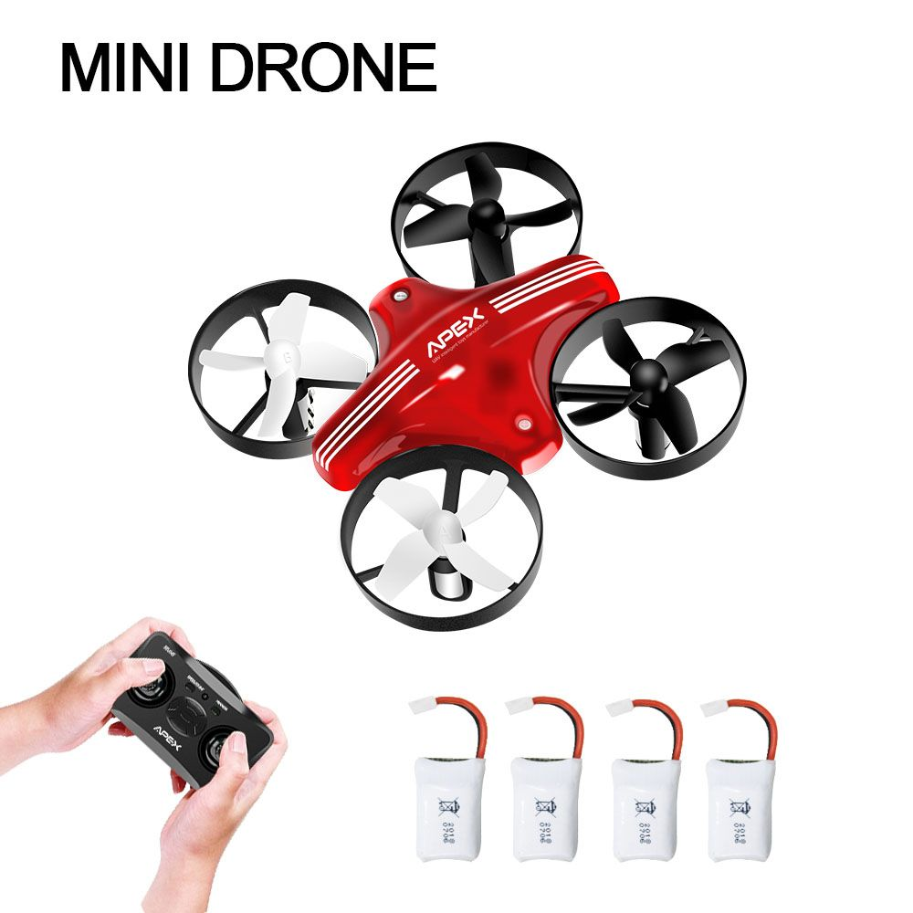 APEX GD-65A Mini Drone Rc Quadcopter Headless Mode with Hold Altitude RC Quadcopter remote control aircraft Dron Toy For Kids