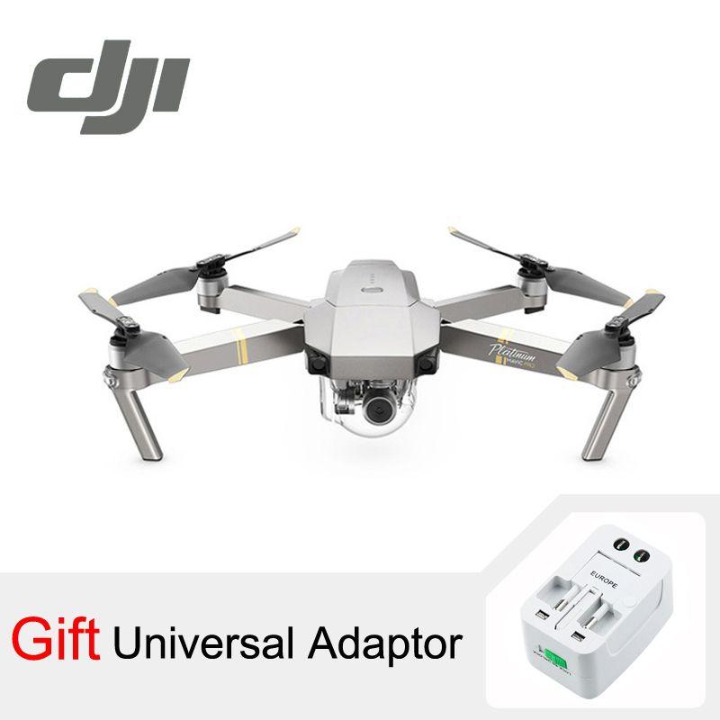 DJI Mavic Pro Platinum Camera Drone 30 Minutes Flight Time 1080P with 4K Video RC <font><b>Helicopter</b></font> FPV Quadcopter DJI Original
