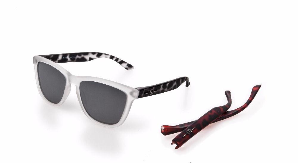 winszenith Fashion Sunglasses UV400 Lenses Protect Eyes Women black+Red Glasses Polarized Blocks Both UV Sunglasses