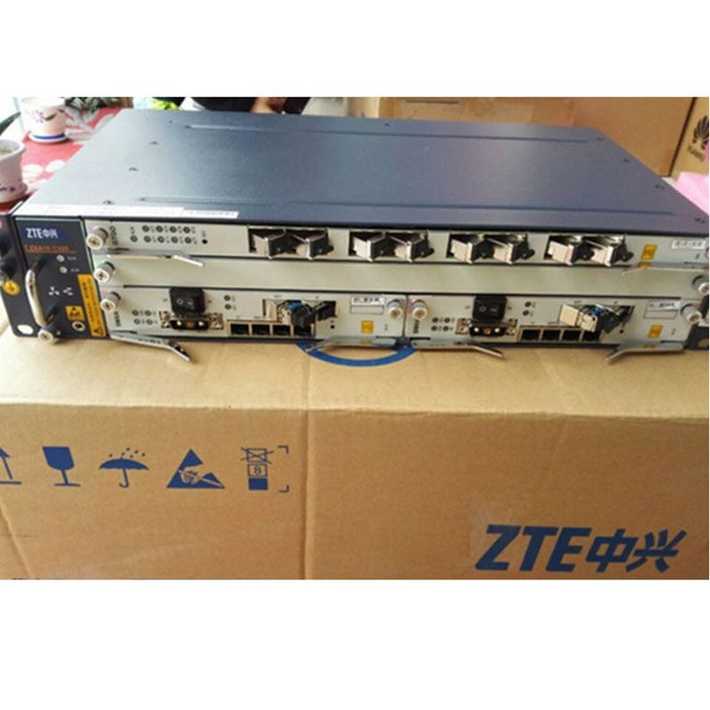 Original brand ZTE OLT ZXA10 C320 2U Optical Line Terminal Equipment,GPON or EPON card SXMA card, PRAM card, AC+DC power supply