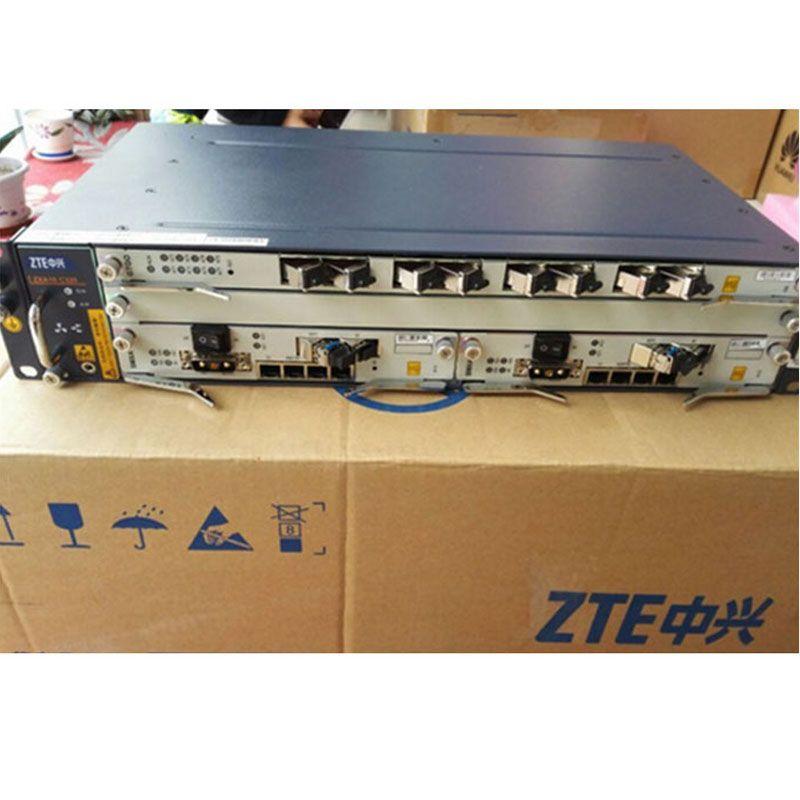 Original brand ZTE OLT ZXA10 C320 2U Optical Line Terminal Ausrüstung, GPON oder EPON karte SXMA karte, KINDERWAGEN karte, AC + DC stromversorgung
