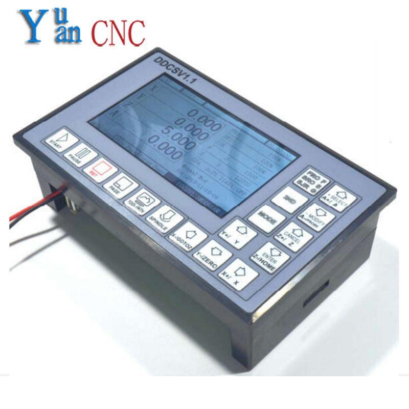DDCSV1/4 achsen 4 verknüpfung motion controller/schrittmotor und servomotor/NC/graviermaschine/CNC offline