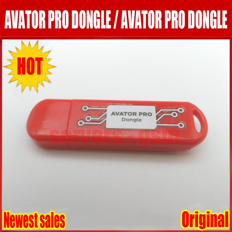 2018 New AVATOR PRO DONGLE Avator Pro Dongle is a phone servicing solution for MediaTek/Qualcomm/Spreadtrum based device