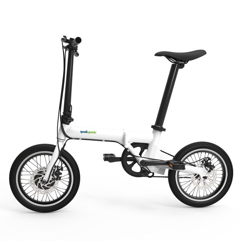 16 zoll elektrische bike folding elektrische fahrrad Smart mini abnehmbare batterie elektrische fahrrad Große rad bike Super licht fahrrad