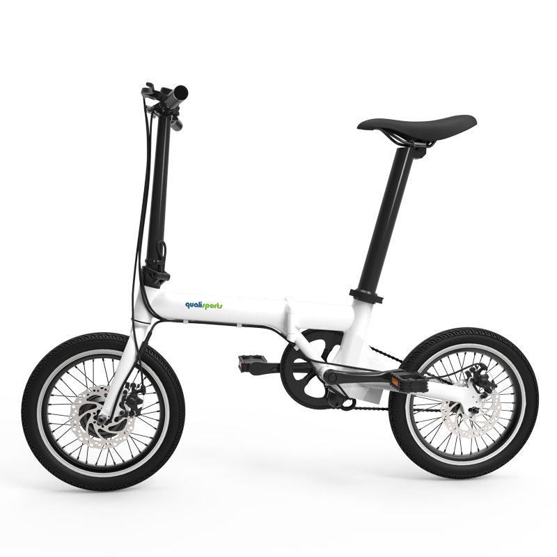 16inch electric bike folding electric bicycle Smart mini removable battery electric bike Large wheel bike Super light bicycle