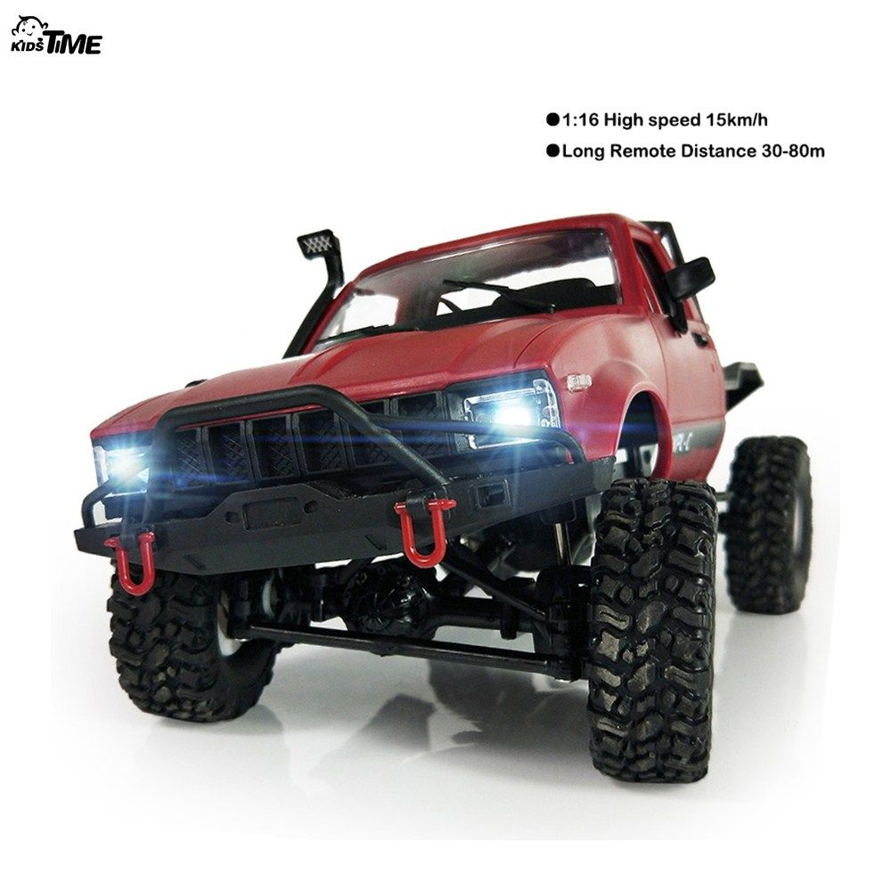 2018 new WPL C14 1:16 2ch 4wd Children RC Truck 2.4G Off-Road Truck Electric RC Car 15km/H Top Speed RTR/KIT Mini Racing Car Toy