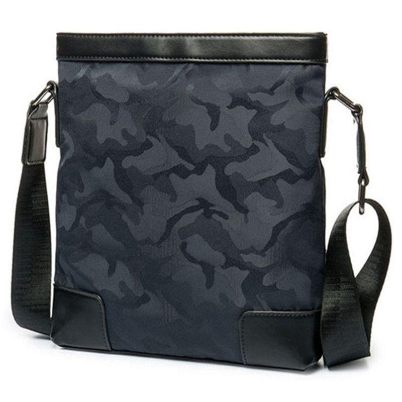 2017 nouveau sac à bandoulière en nylon de camouflage chaud toile sac à main d'homme sacs à main verticaux de haute qualité sacs à message de capacité moyenne