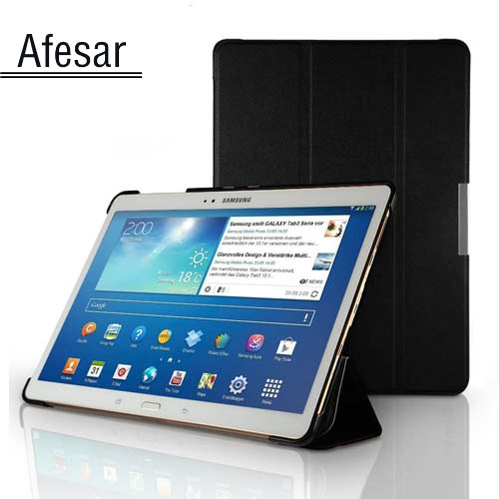 sm T800 T805C tablet Ultra Slim smart cover case for Samsung <font><b>Galaxy</b></font> Tab S 10.5 book cover stand case Auto Sleep-Awake up