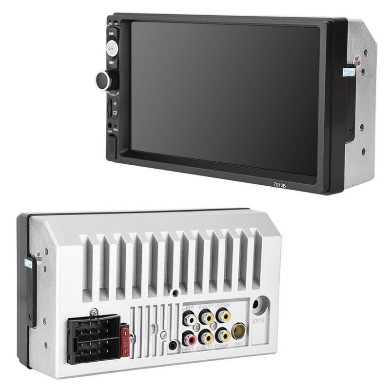 New Good 7010B 2 Din Multimedia Car Radio Stereo Audio 7