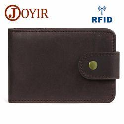 Мини-кошелек высокого качества мужской держатель для кредитных карт натуральная кожа ID держатель мужские кошельки визитница для мужчин су...