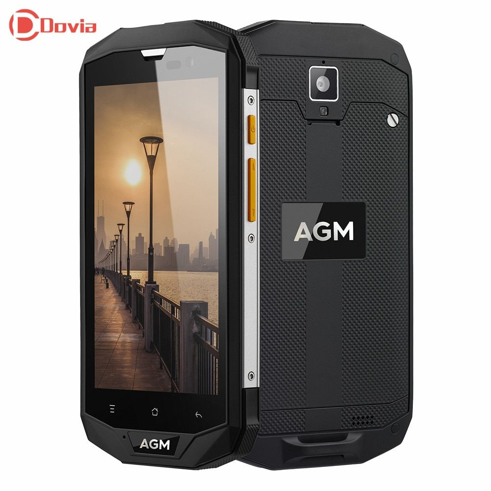 AGM A8 4G Smartphone 13.0MP Rear Camera IP68 Waterproof 4050mAh Battery MSM8916 Quad Core 1.2GHz 3GB RAM 32GB ROM Mobile Phone