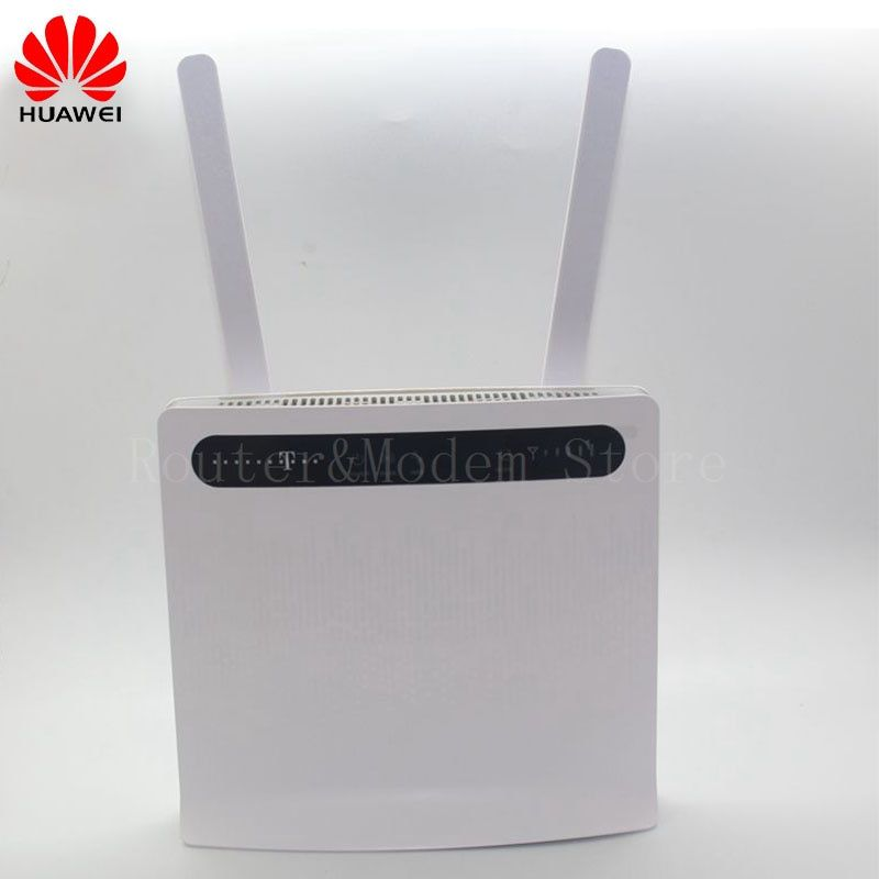 Free shipping unlocked Huawei B593 B593U-12 100Mbps 4G LTE FDD CPE wifi wireless Router with Sim Card Slot