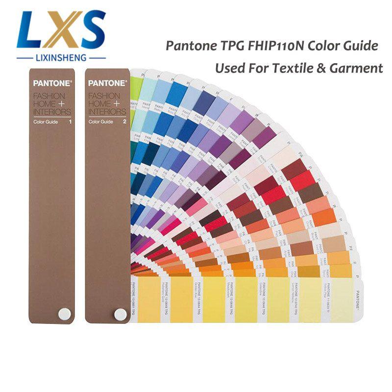 2 bücher/set USA PANTONE TPX/TPG FHIP110N 2310 Arten von Farbe Leitfaden Für Mode, Innenräume, textil und Bekleidung