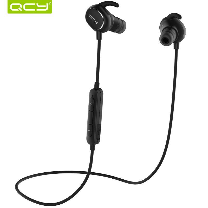QCY TOP 19 IPX4-rated sweatproof headphones bluetooth 4.1 wireless sports earphones aptx headset with MIC