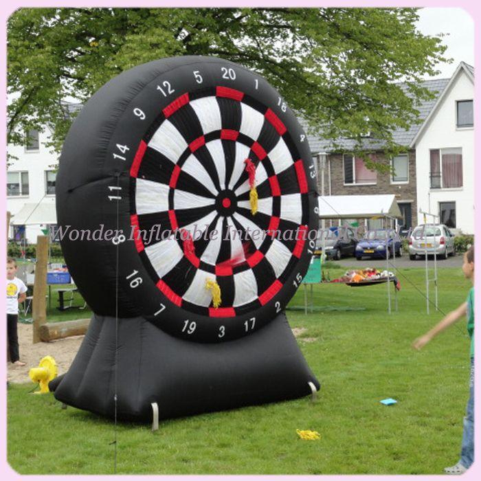 Kinder N erwachsene riesen oxford ziel schießen sport dart aufblasbare dartscheibe für aufblasbare dart game