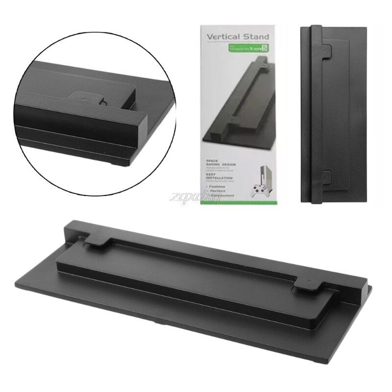 Schwarz und Weiß Für XBOX ONE Schlank Xbox One S Stehen Spiel Konsole Vertikal Ständer Basis Halter Z09 Drop schiff