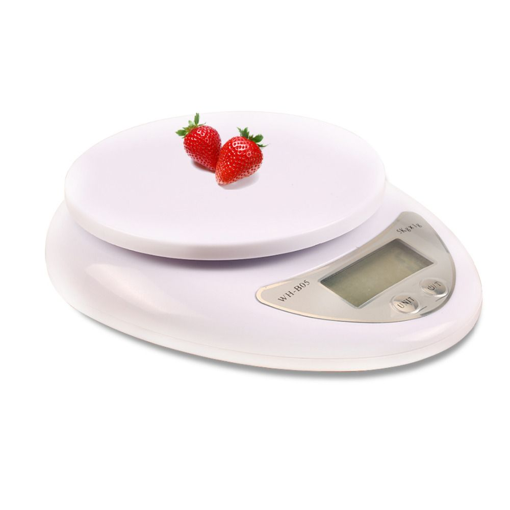 cozinha 1pc Portable 5000g/1g Food Diet Postal Kitchen Digital <font><b>Scale</b></font> Balance Weight Weighting LED Electronic Kitchen Tool