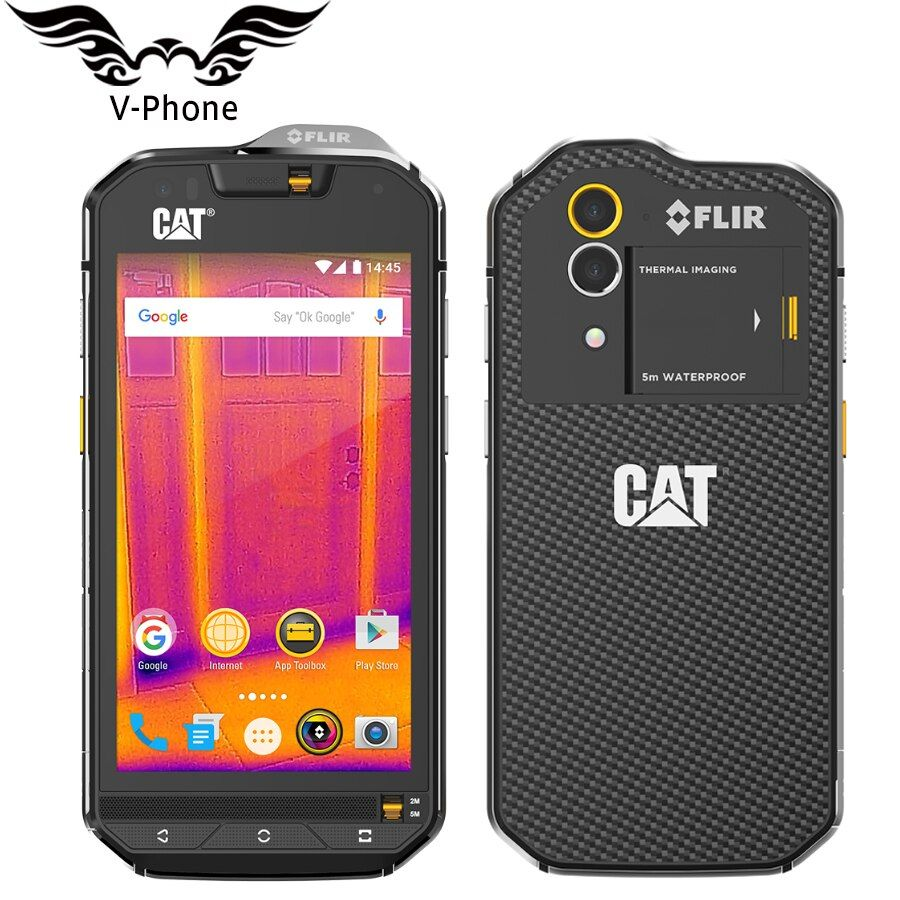 CAT S60 IP68 Mobile Phone Wateproof Dustproof Dropproof 4G LTE 4.7