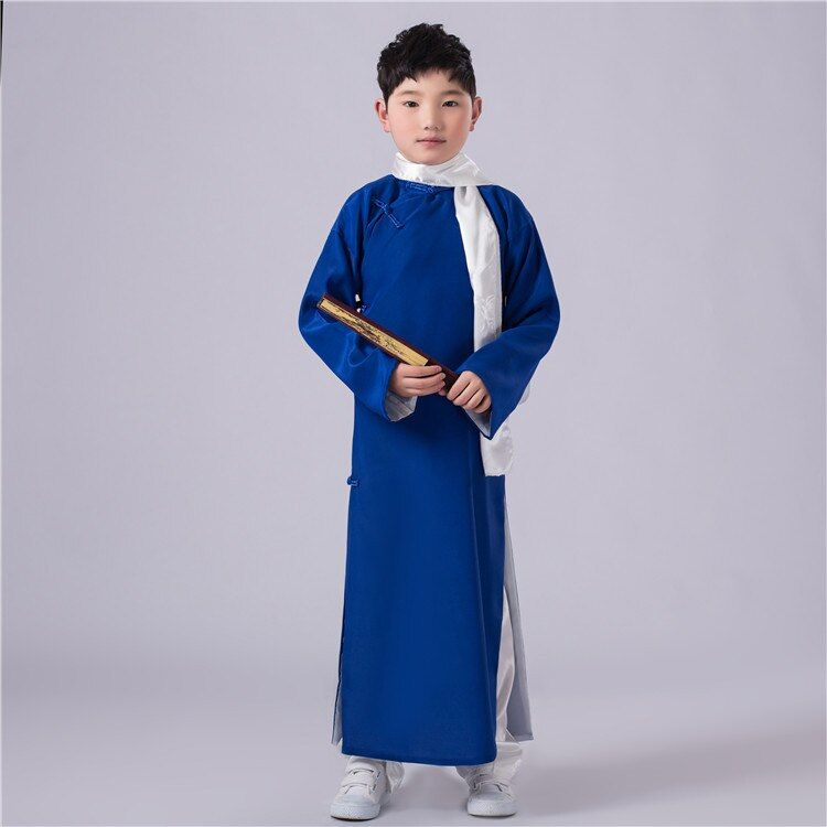 Costumes for Children Robes Ancient Chinese Costumes Tang Dynasty Costumes for Boys Chinese Hanfu Movie Stage Performance Wear