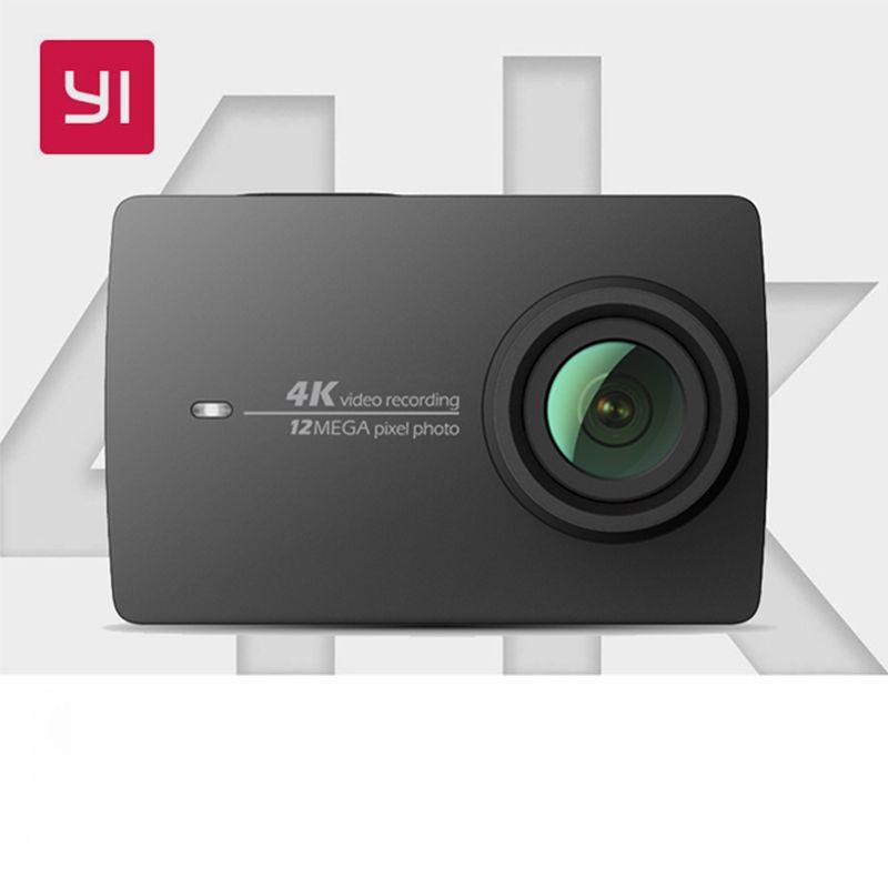 Xiaomi YI 4 K caméra d'action internationale Ambarella A9SE Mini caméra de sport 2.19