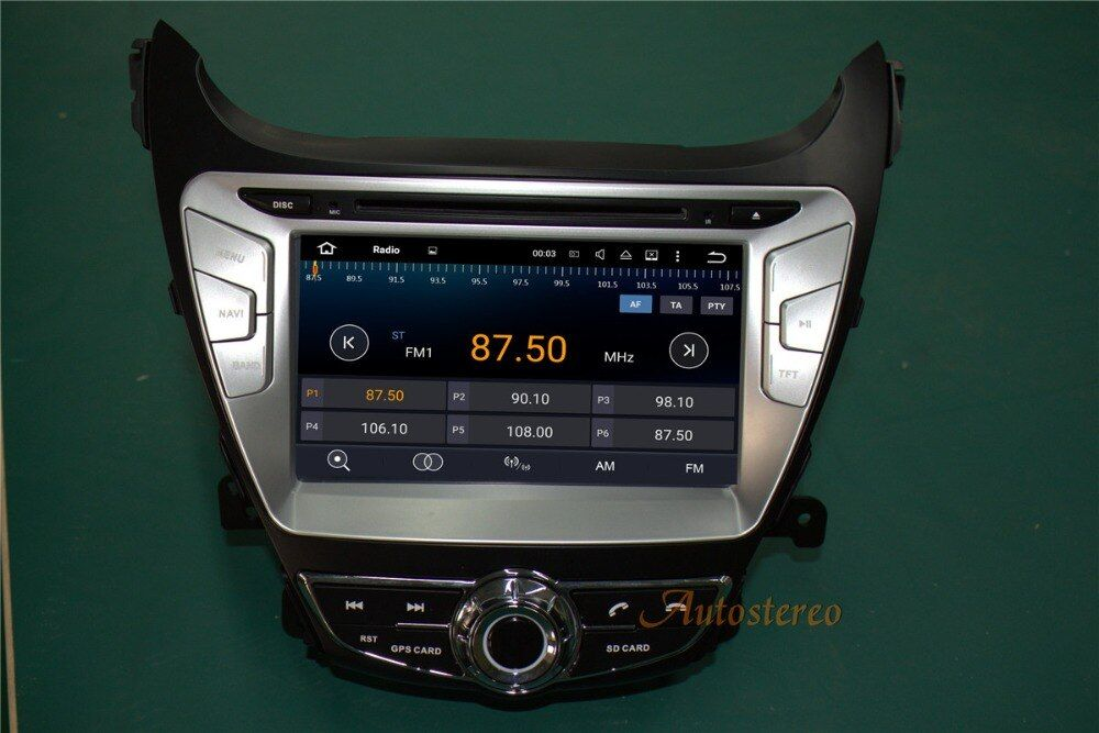 Android7.1 Car GPS Navigation DVD Player For Hyundai Elantra(MD)2011-2013 Avante(MD) car stereo auto navi autostereo multimedia