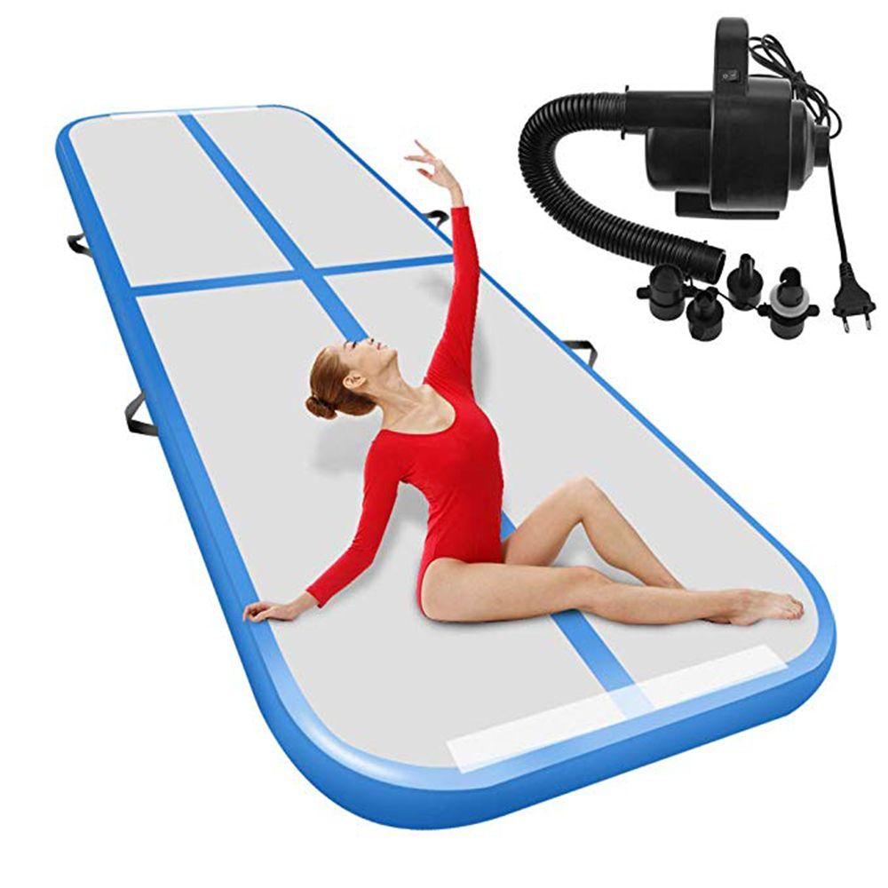 Heiße verkäufe (4m5m10m) * 2 m * 0,2 m Aufblasbare Gymnastik Airtrack Taumeln Air Track Boden Trampolin Für Den Heimgebrauch/Yoga/ cheerleading