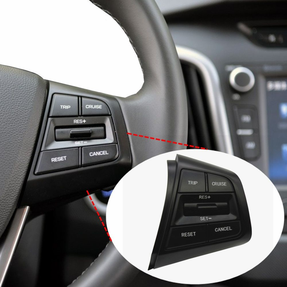For Hyundai ix25 (creta) 1.6 L trip cruise cancel switch Steering Wheel the right side button heating / standard cable