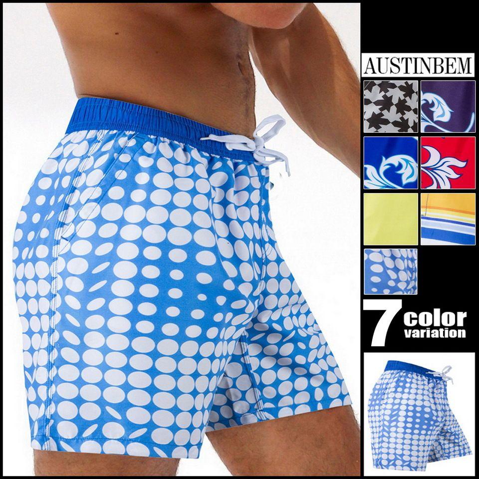 Mens Shorts Board Shorts Summer Beach Homme Bermuda Short Pants Quick Dry Board Beach Short