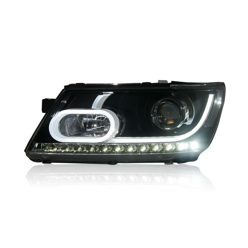 Montage Styling Luces Drl Lampe Neblineros Led Para Auto Tagfahrlicht Auto Beleuchtung Scheinwerfer Für Dodge Journey
