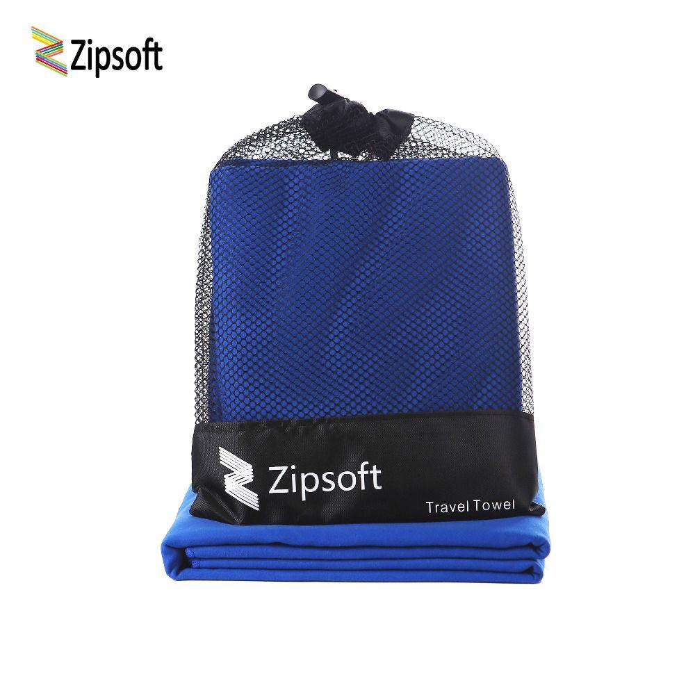 Zipsoft serviettes de Plage couverture grand ultraléger séchage rapide suédois Serviette de bain microfibre maillots de bain Sport sèche-cheveux Serviette de Plage