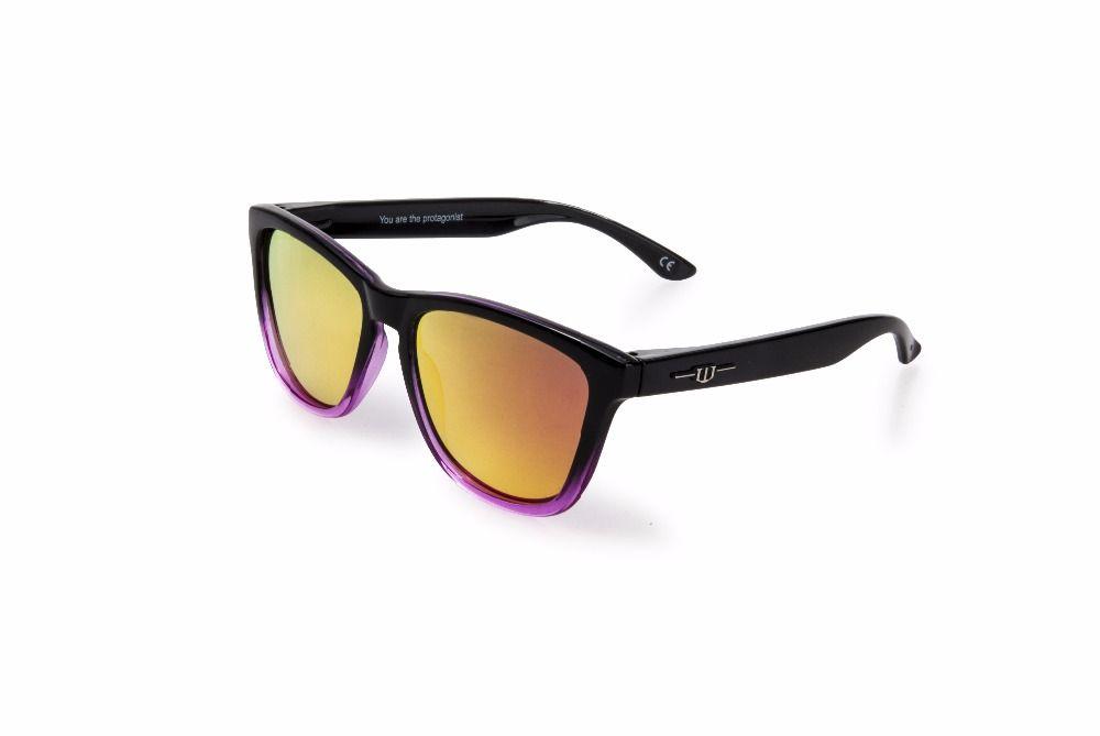 winszenith 45 2018 Fashion Sunglasses Unisex Eyewear UV400 Rose Lenses Protect Eyes Women Glasses Polarized