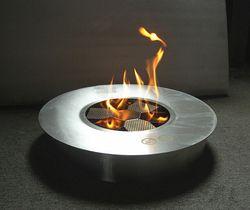 8 litres Ronde manuel Bio cheminée éthanol brûleur feu éco pour la décoration intérieure