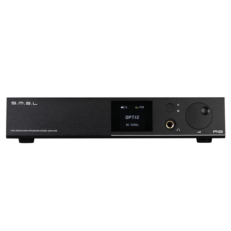 SMSL A8 Hallo-Res HIFI Kopfhörer Verstärker DAC Decoder XMOS Lösung ICEpower 125Wx2 Modul AK4490 Unterstützt PCM