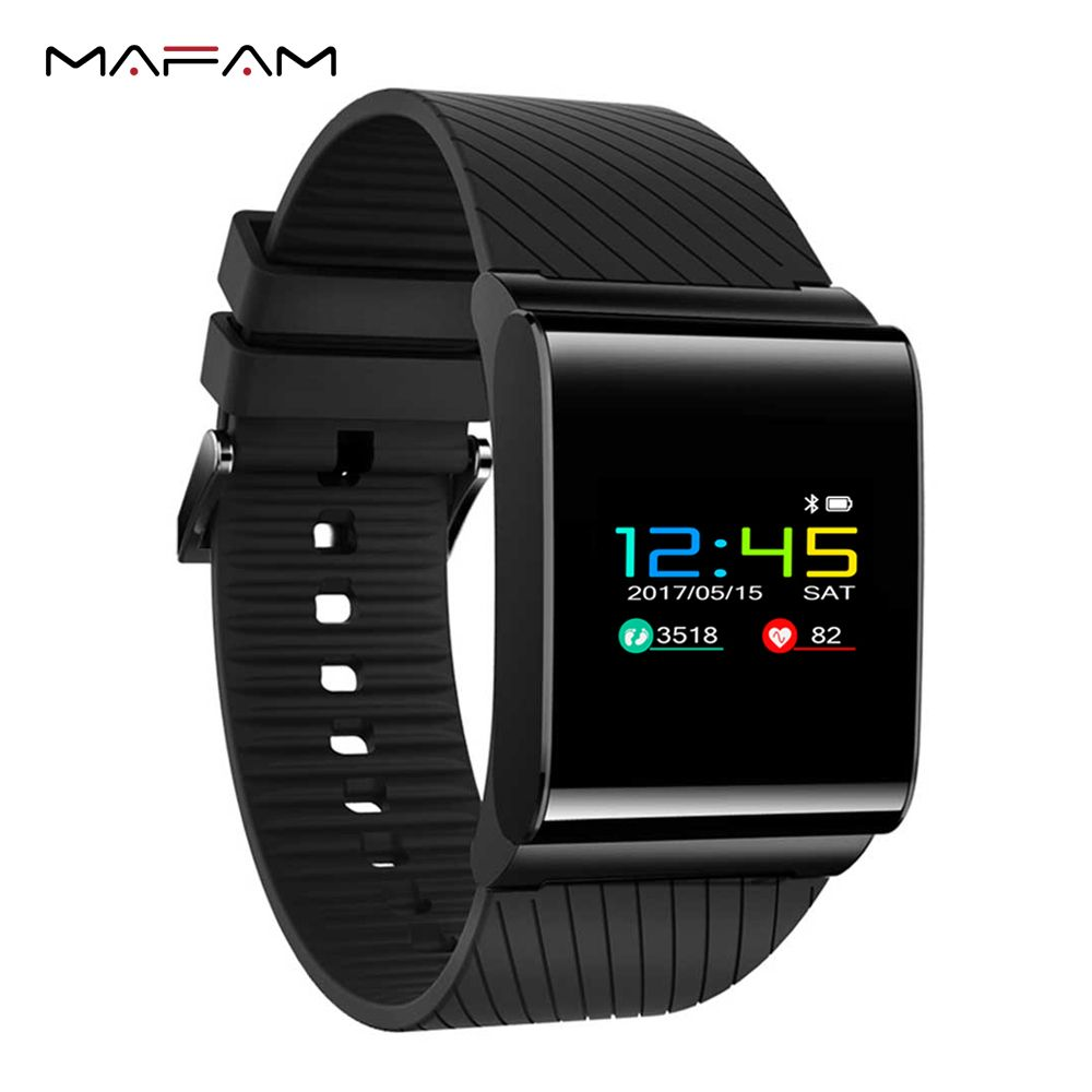 MAFAM X9 Pro Smart Wristband IP67 Waterproof Swimming Smart Bracelet Heart Rate Monitor Pedometer Fitness Blood Pressure Band