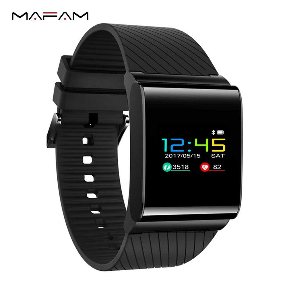 MAFAM X9 Pro Smart Wristband IP67 Waterproof Swimming Smart Bracelet Heart Rate Monitor Pedometer Fitness Blood Pressure Band