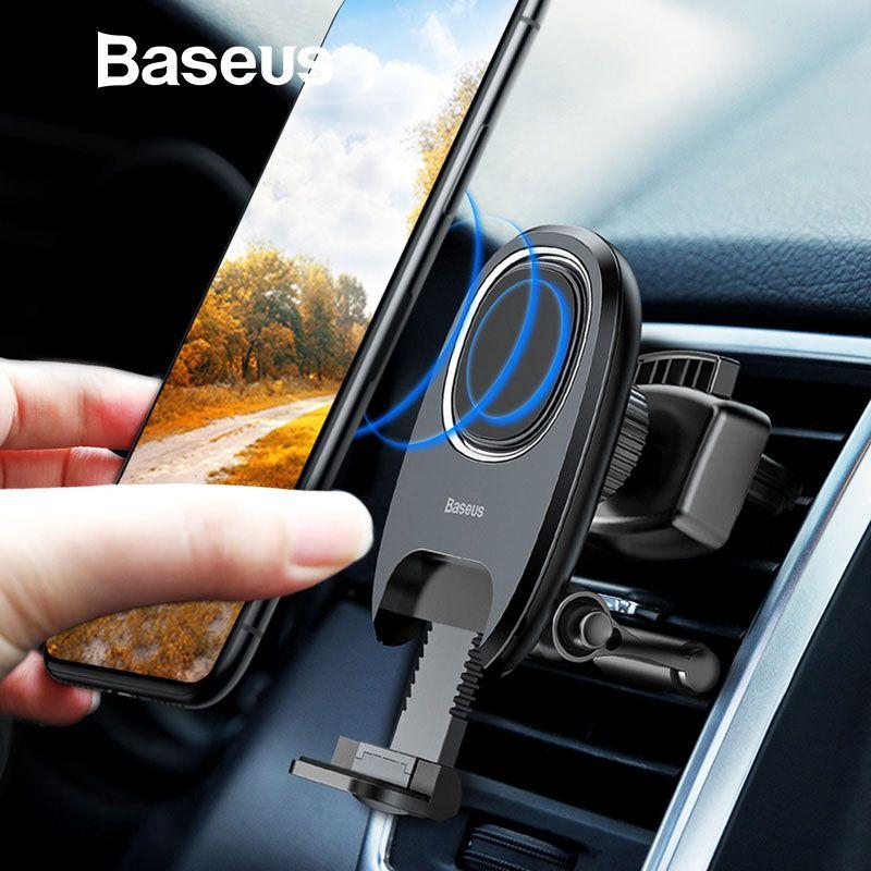 Baseus Magnetische Auto Telefon Halter Schwerkraft Air Vent Halterung Magnet Telefon Halter Stehen für iPhone X Samsung Handy Halter