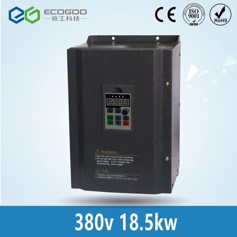 Frequenz inverter, 18500 watt (18.5KW), 380V Variable Frequency Drive für allgemeine AC Motor Speed Control